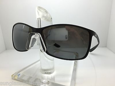NEW RAY BAN RB 4179 601S/82 SUNGLASSES RB4179 RAYBAN MATTE BLACK/MIRROR (Rb4179 Polarized)