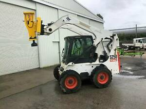 POST RAMMER / Driver / Rock Breaker to suit Bobcat Skid Steers / Posi Yass Yass Valley Preview