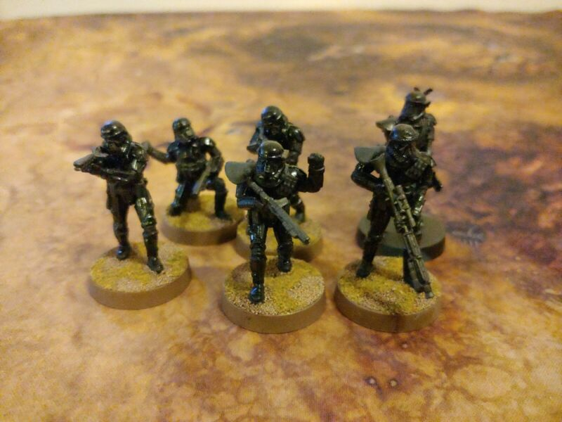 Star Wars Legion Painted Death Troopers