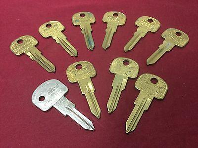 Fiat By Curtis Automotive Ft46 Ft45 Key Blanks Set Of 10 - Locksmith