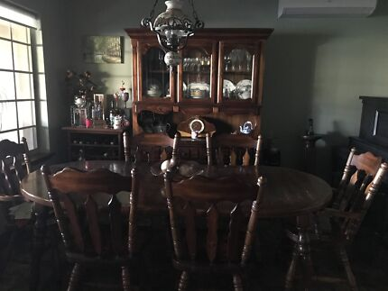 Dining Table Chairs Buffet