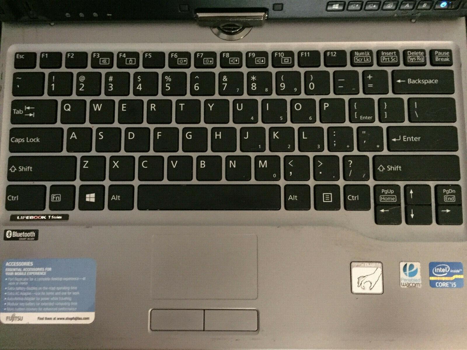 Laptop Windows - Fujitsu LifeBook T732 convertible i5 2.5 GHz 4 GB 120 GB SSD Windows 10 touch