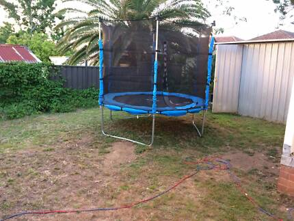 Trampoline as good as new