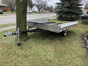 Snowmobile Trailer (non-tilting)