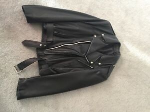Leather Motorcycle jacket mens
