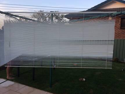 4 x Aluminium Venetian Blinds - Wynstan Brand - White Engadine Sutherland Area Preview