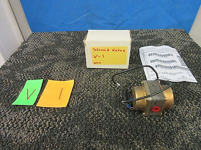 Rh Industries Helicopter Military Solenoid Valve Threaded Fuel Oil Piston New