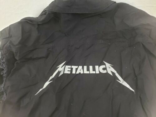 Rare Metallica Beyond Death Magnetic Button Down Sleeveless Shirt CH Apparel XL - $99.99