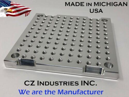 "6"" x 6"" x 1/2"" MIC 6 Aluminum Fixture / Sacrificial Plate, Mini Pallet,QTY: 1"