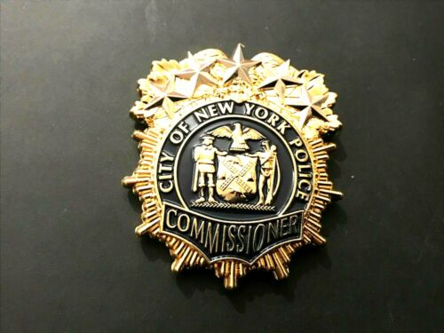 CRAZY RARE NYPD COMMISSIONER ONIEL SHIELD CHALLENGE COIN