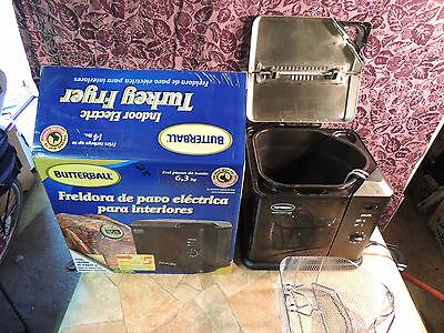 MASTERBUILT 230110611 Butterball Professional Series Indoor Electric TurkeyFryer