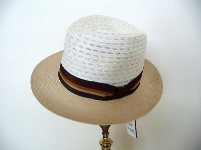 NWT City Sport Caps Panama Style hat, made in 100% Hemp.  Size 58  M/L