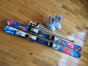 Girls Skis, Boots & Poles