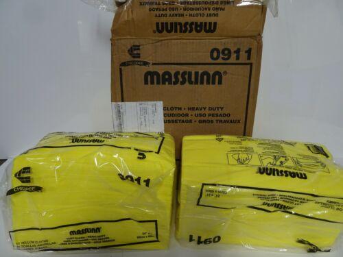 100 Chicopee Masslinn 0911 Dust Cloths, 24 X 24, Yellow, (2 Bags of 50)
