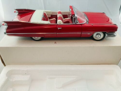 NIB Danbury Mint 1959 Cadillac Series 62 Red Original Packaging