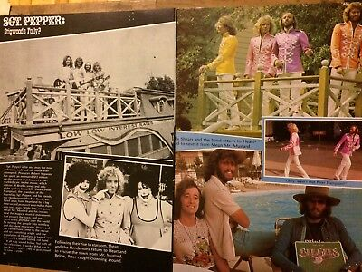 The Bee Gees, Two Page Vintage Clipping