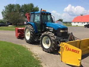 Tracteur New Holland 8160 4x4