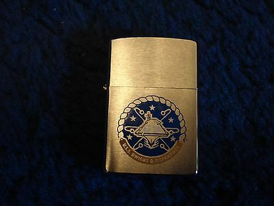 Zippo Lighter U,S.S. Dwight D. Eisenhower 69.