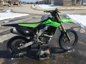 2013 kxf250 FUEL INJECTED, LOW HOURS!