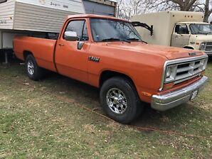 1990 ram 250 5.9 Cummins diesel