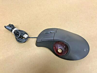 Microsoft Trackball Optical 1.0 USB Scroll Wheel Mouse NO BALL