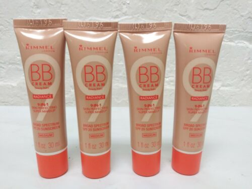 4 Rimmel London BB Cream Radiance 9 in 1 Makeup Foundation S