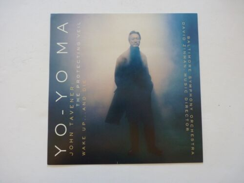 Yo-Yo Ma Tavener LP Record Photo Flat 12x12 Poster