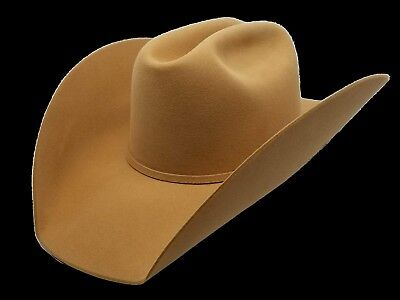 5bb25066 ATWOOD WHISKEY 7X SHOW HAT NWB LOW CROWN SHAPED all sizes Custom color
