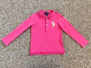 Polo Ralph Lauren Girl's T-shirt with Long Sleeves ( 4T )