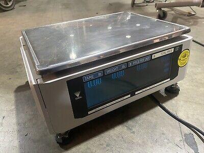 182095 Used Digi Sm-720 Digital Programmable Touch Screen Deli Scale 30lbmax