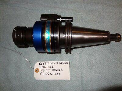 Cat50 Big Daishowa Oil Hole Hi Jet Holder Tg100 Collet