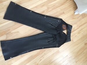 Chaps  large cuir