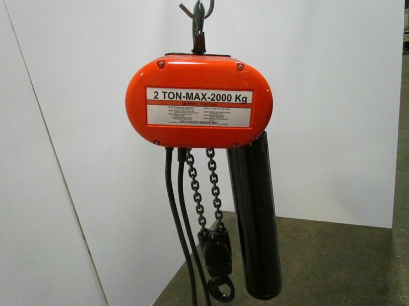 Cm Lodestar R 2 Ton 4000lb Electric Chain Hoist 3Ph 15
