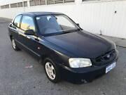 2001 Hyundai Accent Hatchback, MANUAL, FREE 1YEAR WARRANTY Maddington Gosnells Area Preview