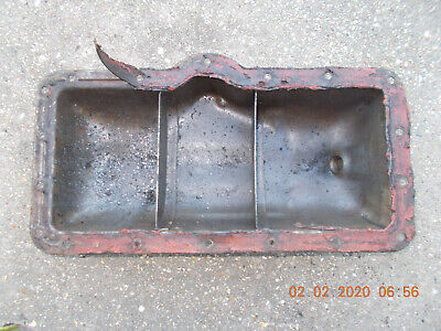 Oil Pan For David Brown 990 Tractor Includes Plug Used