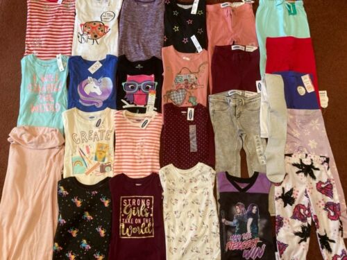 NEW Huge Toddler Girls Size 4 4T FALL WINTER  Clothing Lot OLD NAVY TCP  NWT