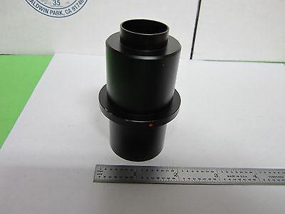 Leitz Germany Camera Port Adapter For Microscope Optics As Is Binw4-58-35