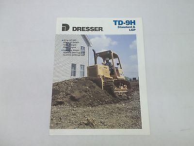 Dresser Td-9h Standard Lgp Crawler Dozer Sales Brochure