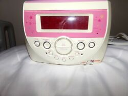 Hello Kitty AM/FM Stereo CD Dual Alarm Clock Radio Model KT2053  Tested working