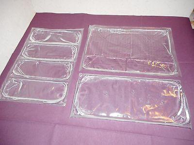 3 Kühlakkus Set 3 Größen Kühlpack Coolpack Gelkühlakku Gelpack Kühlkissen Akku