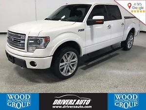 2013 Ford F-150 Limited, SUPERCREW, 6.2L V8, Financing Available
