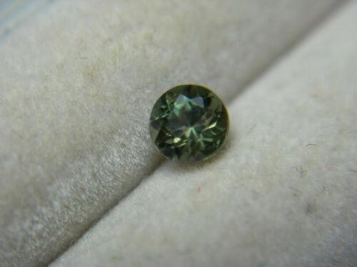 very rare Green Kornerupine Gemstone Madagascar Natural Untreated gem 0.30ct rnd