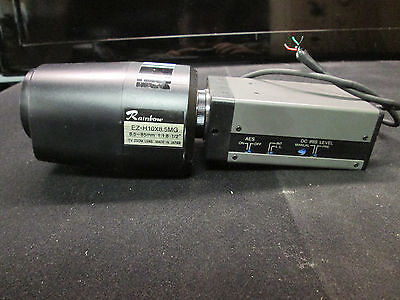 Fc-62b Security Camera And A Rainbow Ez-h10x8.5mg Lens Cctv