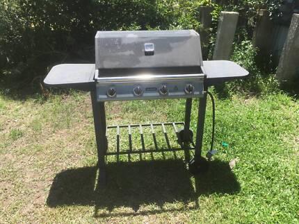 Jumbuck 4 burner BBQ