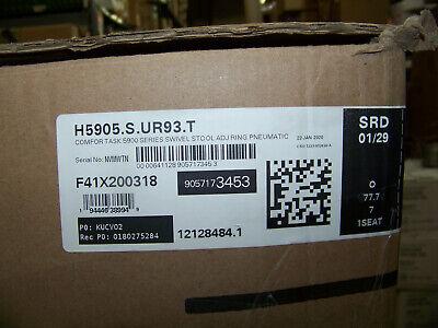 Hon Comfor Tast 5900 Series Swivel Stool Adj. Ring Pneumatic H5905.s.ur93.t