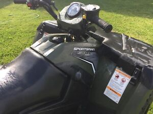2012 Polaris sportsman 500 2 up model.