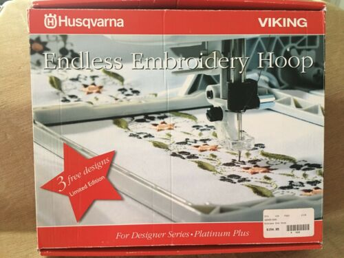 Husqvarna Viking Endless Embroidery Hoop (170 x 100 mm) 3 Free Designs