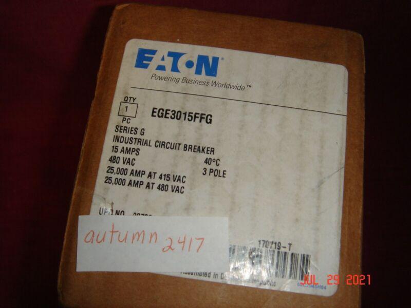 EATON EGE3045FFG SER G INDUSTRIAL CIRCUIT BREAKER