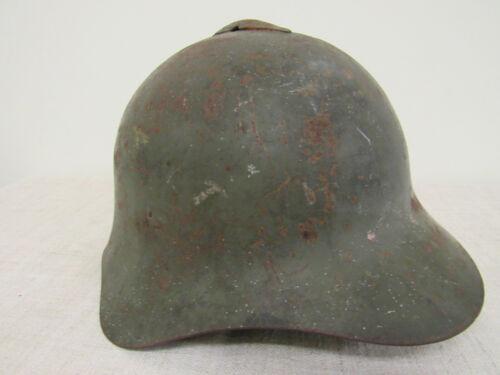 WWII Russian M36 Helmet. Finnish Trophey.