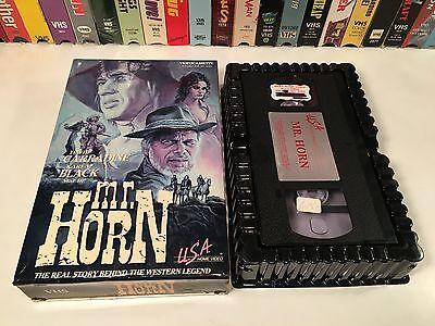* Mr. Horn Rare TV Movie Bio Drama VHS 1979 David Carradine RIchard Widmark